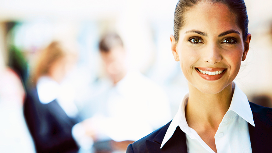 business woman smiling 5